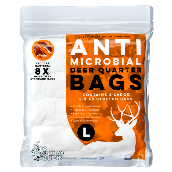 Anti-microbial Deer, Antelope Quarter Bags