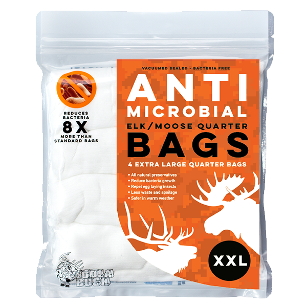 Anti-microbial Elk and Moose Quarter Game Bags XXL