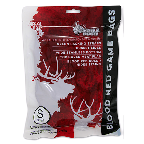Blood Red Game Bag – Small