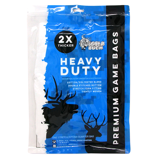 Heavy Duty Elk Quarter Game Bags XL – Single Pack