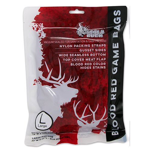 Blood Red Game Bag – Large